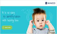 MAICO launches new Newborn Hearing Screening webpage
