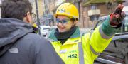Hearing protection for workers sounds good on HS2 rail construction sites