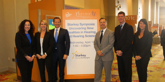 Starkey's team participating at their symposium
