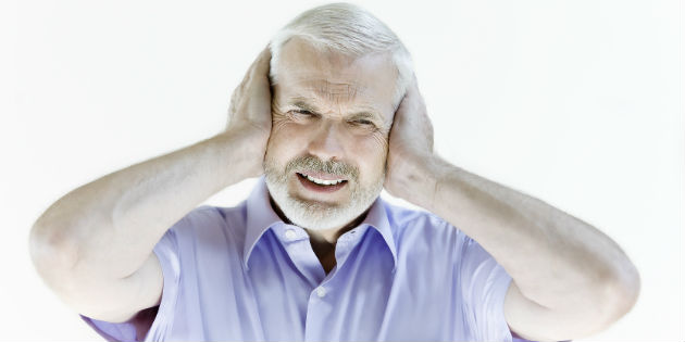 Man suffers from tinnitus