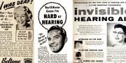 Hearing aid nostalgia: a video slideshow through hearing device advertising since the 1940s