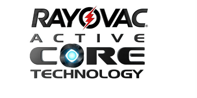 Rayovac Active Core Technology